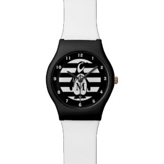 Penguin and Stripes Watch
