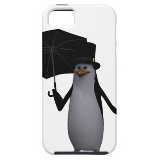 penguin and umbrella iPhone 5 cover