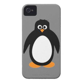 Penguin Arctic animal bird ocean polar snow happy iPhone 4 Case-Mate Cases