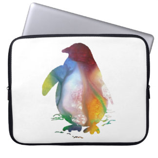 Penguin Art Laptop Sleeve