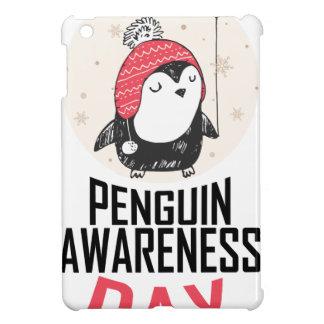 Penguin Awareness Day - Appreciation Day iPad Mini Covers