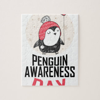 Penguin Awareness Day - Appreciation Day Jigsaw Puzzle