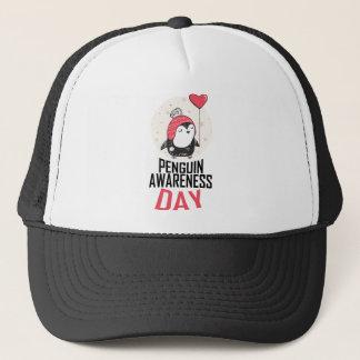 Penguin Awareness Day - Appreciation Day Trucker Hat