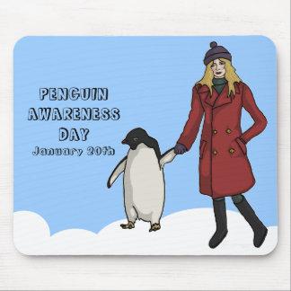 Penguin Awareness Day, mousepad Mouse Pad