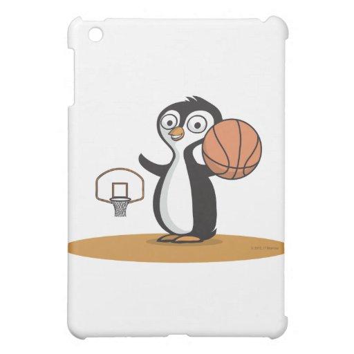 Penguin Basketball iPad Mini Cases