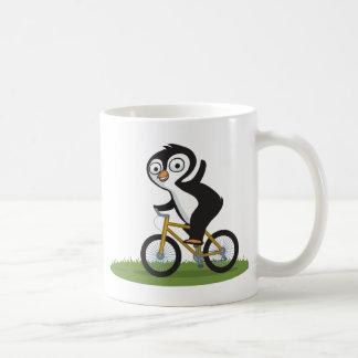 Penguin Biker Coffee Mug