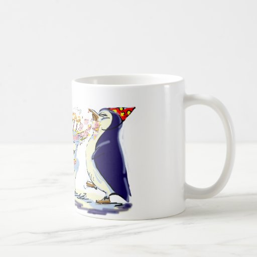 PeNgUiN BiRtHdAy Coffee Mug