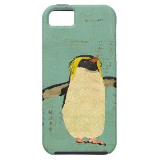 Penguin Blue Lagoon iPhone Case iPhone 5 Cases