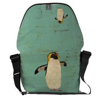 Penguin Blue Lagoon Messenger Bag