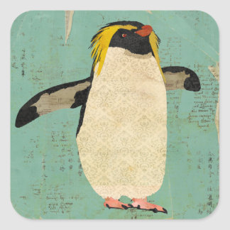 Penguin Blue Lagoon Sticker