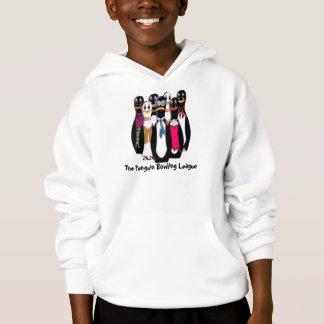 Penguin Bowling League (Kids Hoodie)