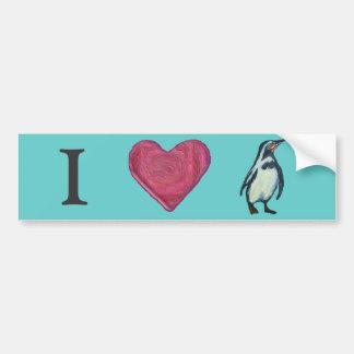 Penguin Bumper Sticker