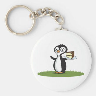 Penguin Cake Keychains