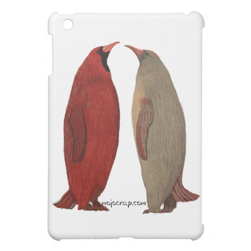 Penguin Cardinal Pair iPad Mini Case