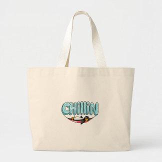 PENGUIN CHILLIN JUMBO TOTE BAG