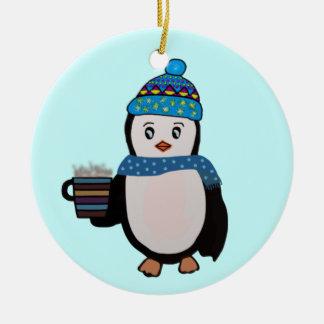 Penguin Cocoa Ornament