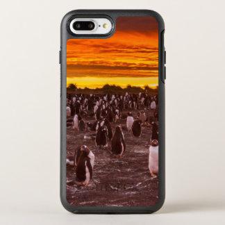 Penguin colony at sunset, Falkland OtterBox Symmetry iPhone 8 Plus/7 Plus Case
