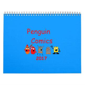 Penguin Comics 2017 Calendar