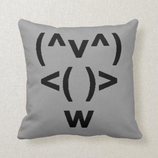 Penguin Computer Symbol Cushion
