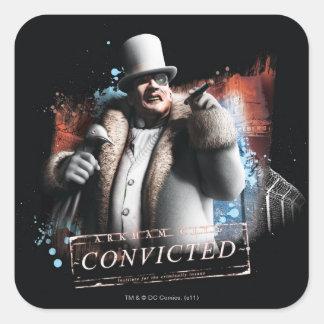 Penguin - Convicted Square Sticker