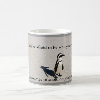 Penguin Courage Coffee Mug