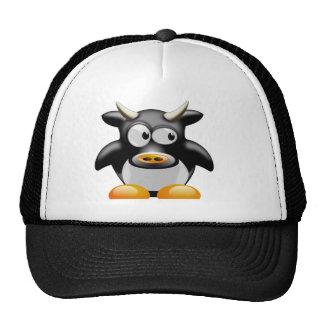 Penguin Cow With Horns Cap