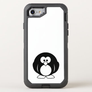 penguin cute baby animal fun joy happy beautiful OtterBox defender iPhone 8/7 case