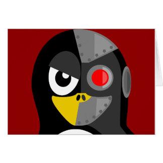Penguin Cyborg Card