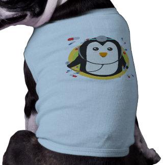 Penguin doctor in circle Z2j5l Sleeveless Dog Shirt