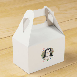 Penguin doctor with flower heart Zuq99 Favour Box