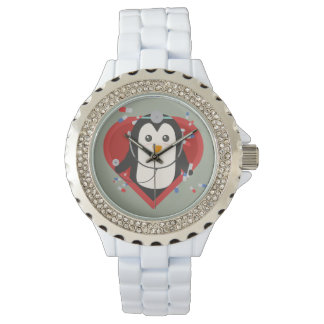 Penguin doctor with heart Zal28 Watch