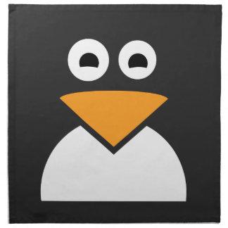Penguin Face Napkins