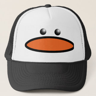 Penguin Face Trucker Hat