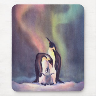 PENGUIN FAMILY by SHARON SHARPE Mouse Pad
