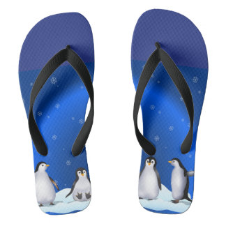 Penguin Family Thongs
