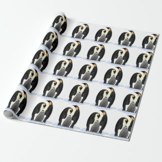 Penguin Family Wrapping Paper
