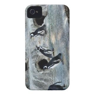 Penguin Flock iPhone 4 Case-Mate Cases