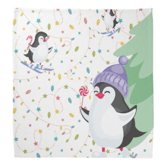 Penguin Folly Bandana