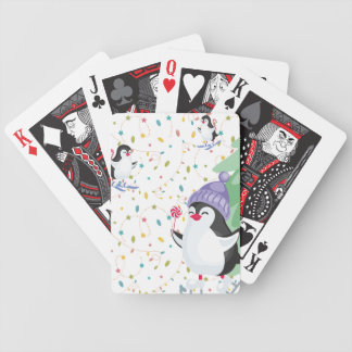 Penguin Folly Bicycle Playing Cards