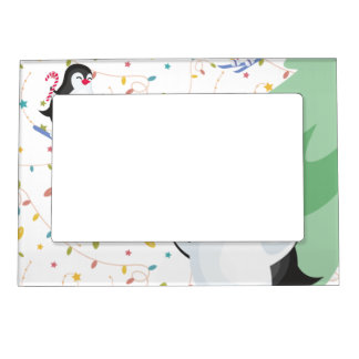 Penguin Folly Magnetic Picture Frame