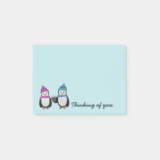 Penguin Friends Post-it Notes