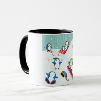 Penguin Fun Mug