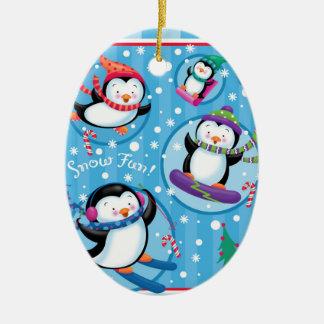 Penguin Fun Ornament