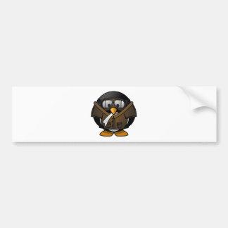 Penguin Gifts Pilot Bumper Sticker