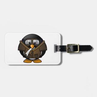 Penguin Gifts Pilot Luggage Tag