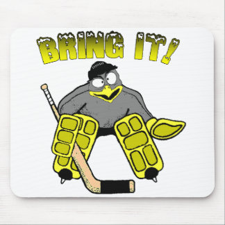 Penguin Goalie Mousepad