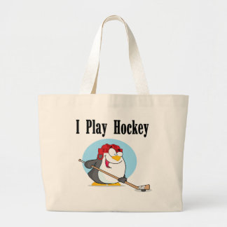 Penguin Hockey Tshirts and Gifts Tote Bag