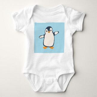 Penguin Hug Baby Baby Bodysuit