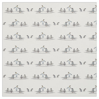 Penguin Iceberg Party Fabric (choose colour)