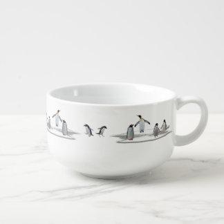 Penguin Iceberg Party Soup Bowl